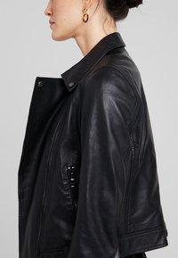 Ibana - LEVINE - Leather jacket - black - 4