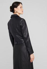 Ibana - LEVINE - Leather jacket - black - 2
