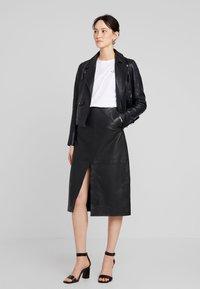 Ibana - LEVINE - Leather jacket - black - 1