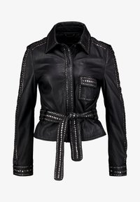 Ibana - STEPHANIE - Leather jacket - black - 4