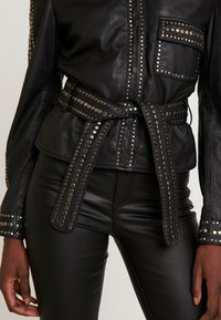 Ibana - STEPHANIE - Leather jacket - black - 5