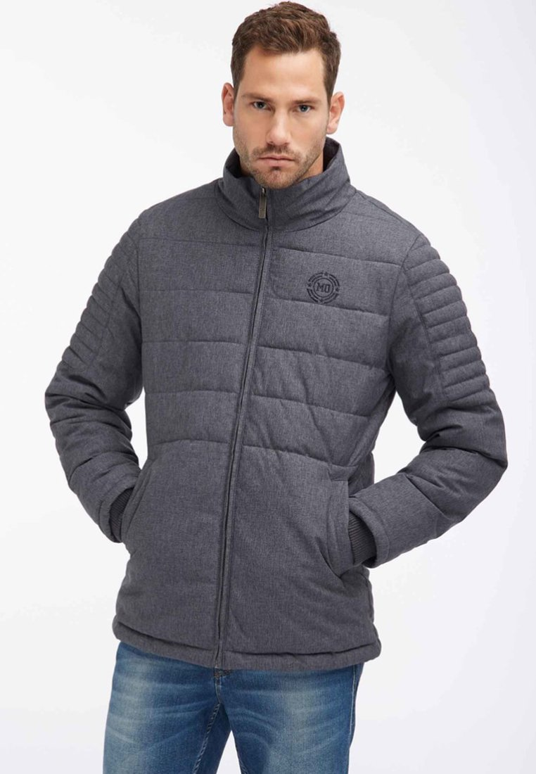 Mo - ANORAK - Giacca invernale - blue/grey