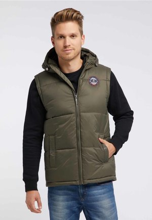 Bodywarmer - military olive