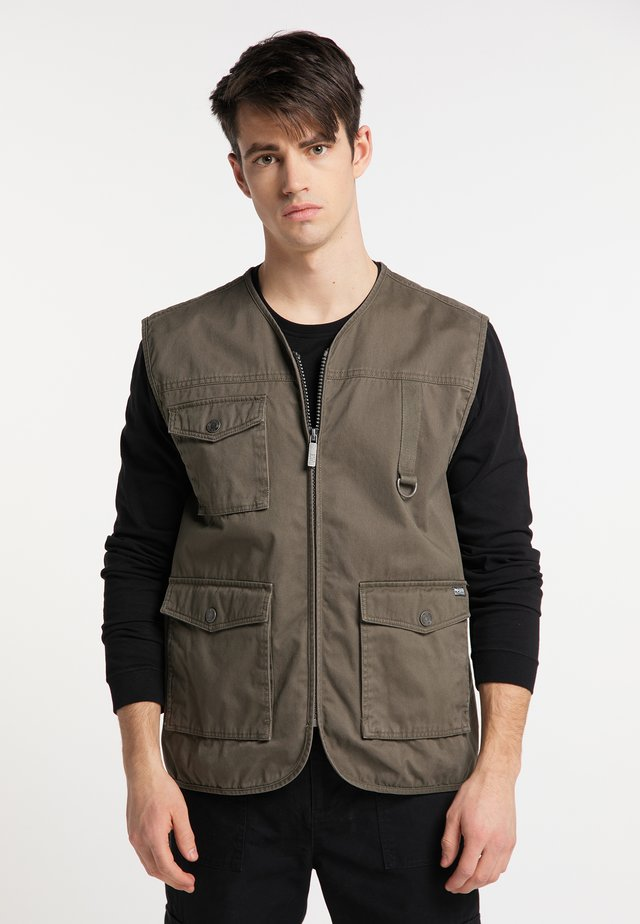 Weste - military olive