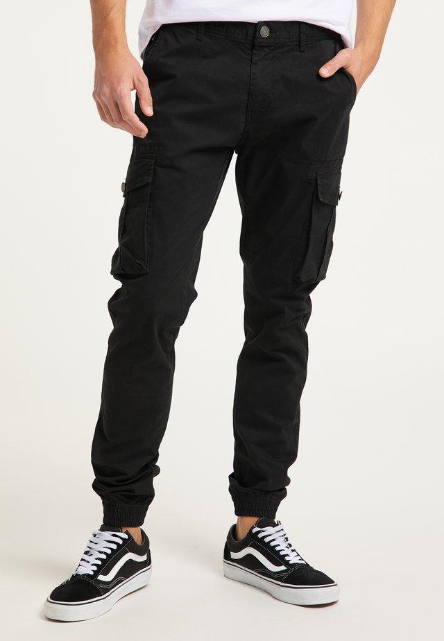 Cargo trousers - schwarz