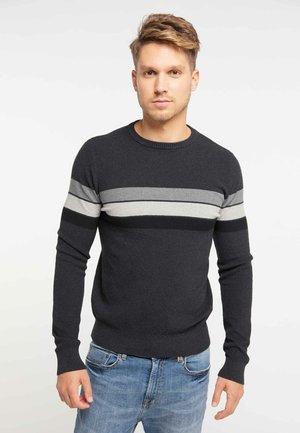 Sweter - dark gray melange