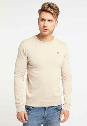 Jersey de punto - dark beige