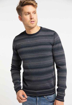 Jersey de punto - dark grey navy