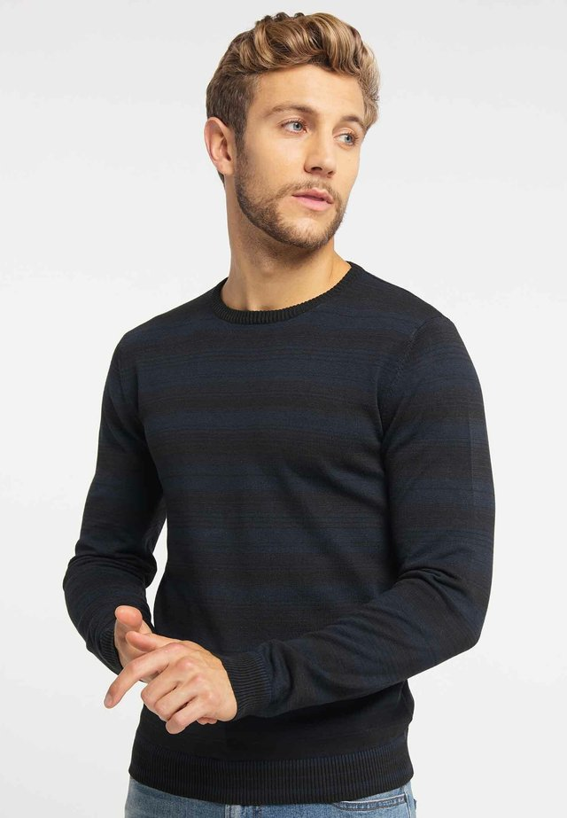 Jumper - black/navy