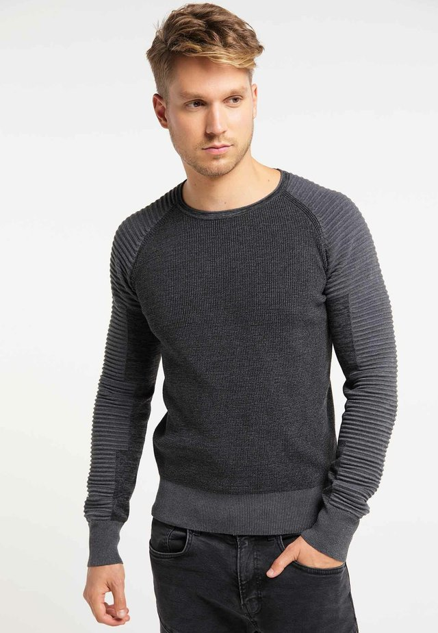 Jumper - black dark gray