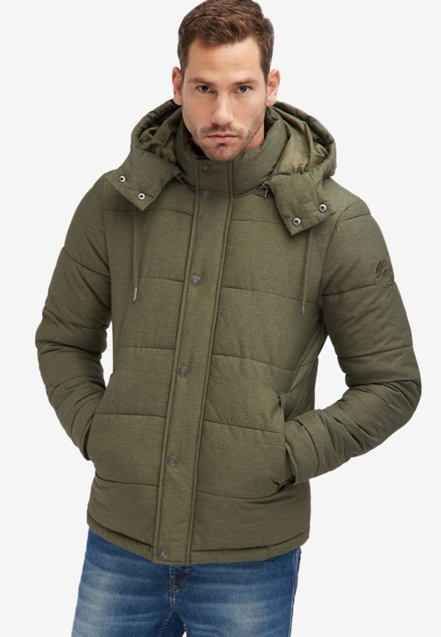 ANORAK - Winter jacket - olive  melange