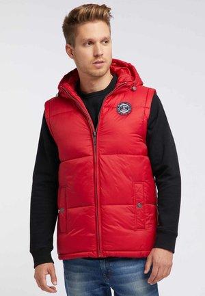 Waistcoat - dark red