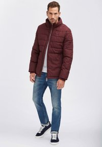 Mo - Winterjacke - bordeaux - 1