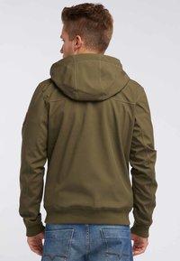 Mo - Soft shell jacket - olive - 2