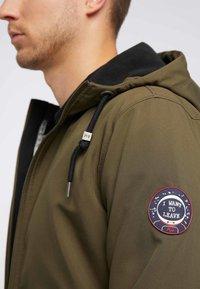 Mo - Soft shell jacket - olive - 3