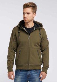 Mo - Soft shell jacket - olive - 0