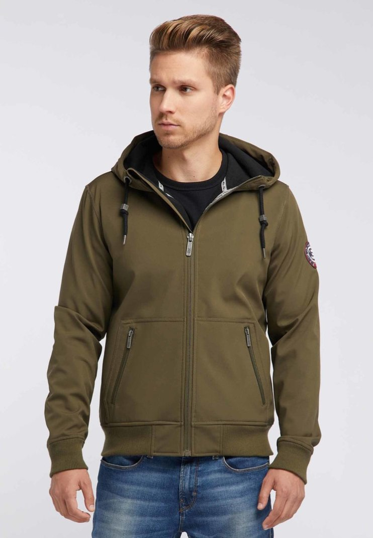 Mo - Soft shell jacket - olive