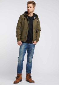 Mo - Soft shell jacket - olive - 1