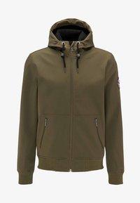 Mo - Soft shell jacket - olive - 4