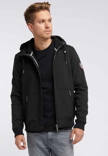 Softshell jakker - black