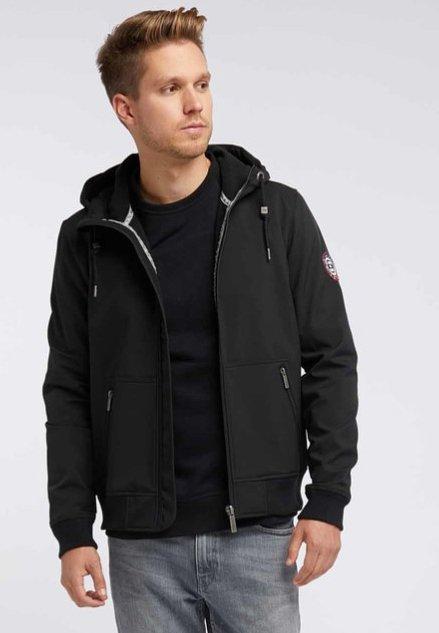 Mo - Soft shell jacket - black