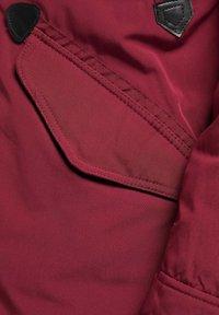 Mo - Winter coat - burgundy - 3