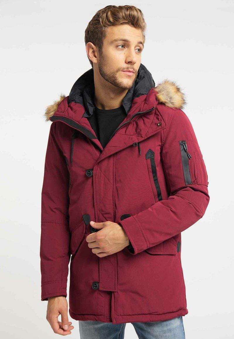 Mo - Winter coat - burgundy