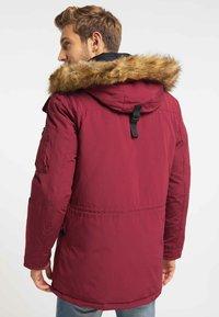 Mo - Winter coat - burgundy - 2