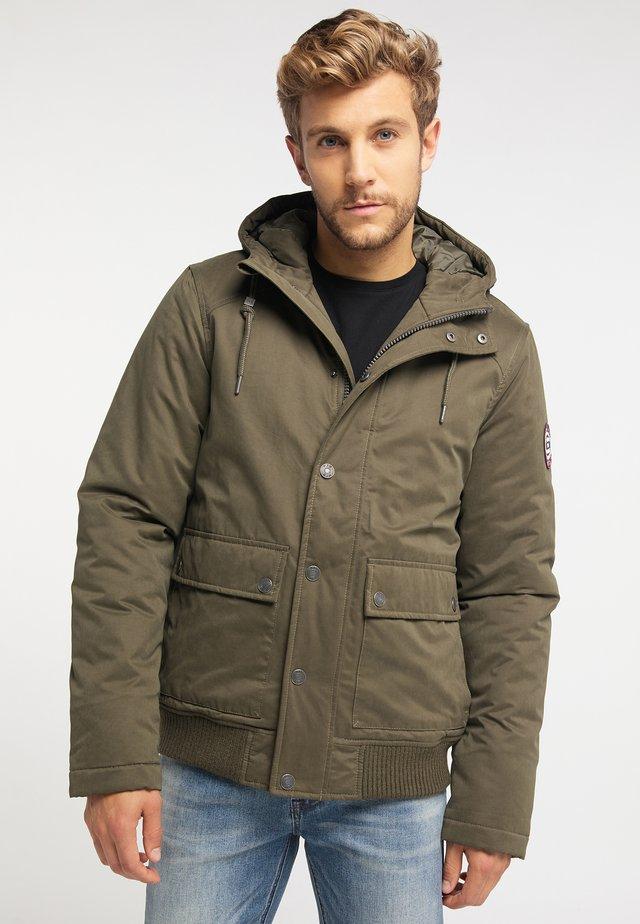 Winter jacket - military olive