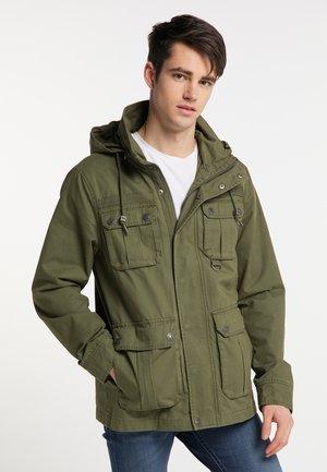 Summer jacket - military green