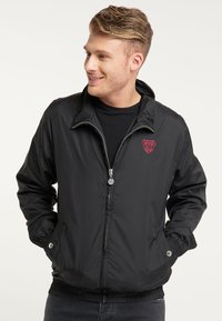 Mo - WINDBREAKER - Summer jacket - black - 0