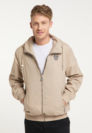 WINDBREAKER - Summer jacket - beige