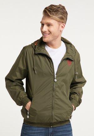 WINDBREAKER - Summer jacket - oliv