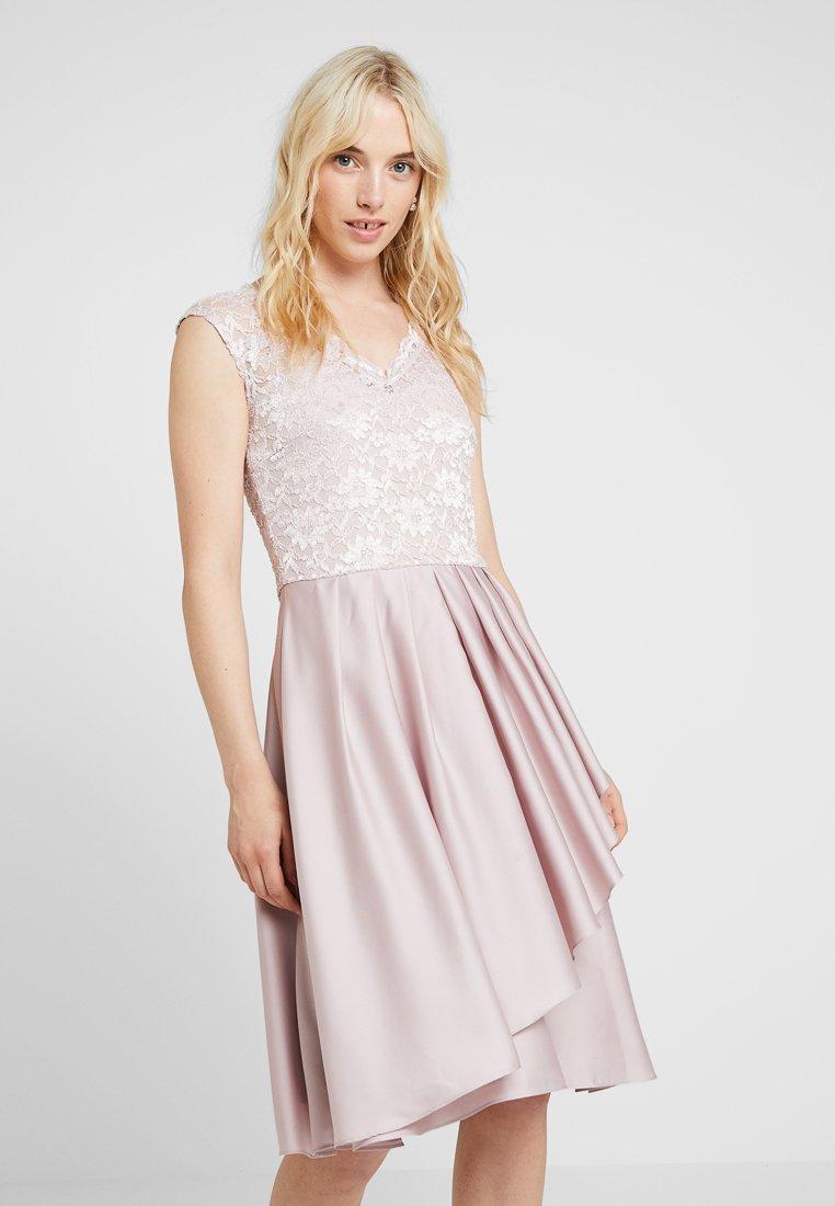 Swing - Cocktailkleid/festliches Kleid - hellorasa