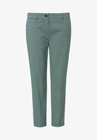 Basler - MIT ALLOVER-MUSTER UND 7/8-LÃNGE - Trousers - dark green - 5