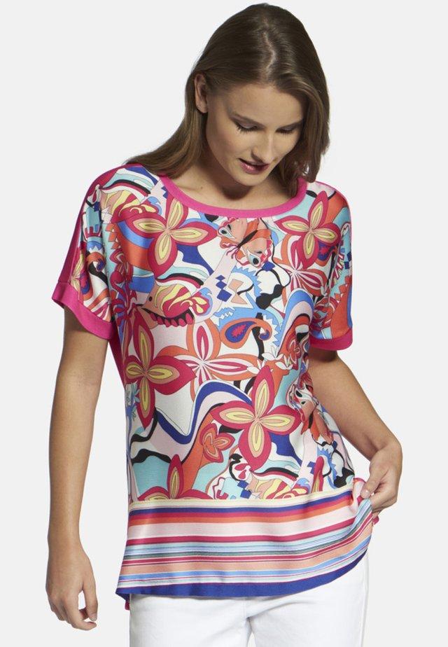 T-shirts print - fuchsia