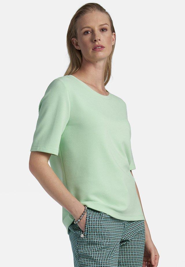 MIT REISSVERSCHLUSS - Print T-shirt - mint