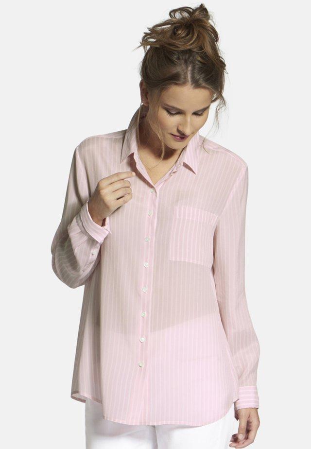 Skjortebluser - pink / white