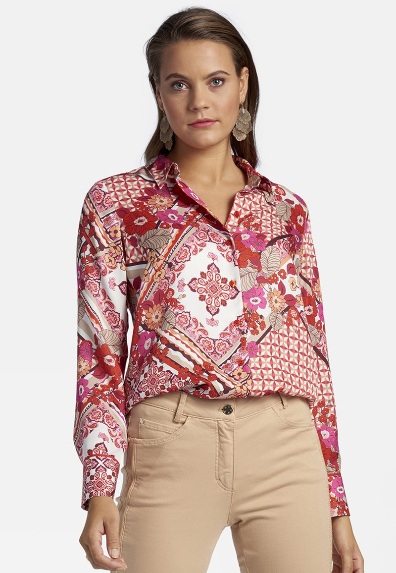 Basler - Button-down blouse - multi-coloured