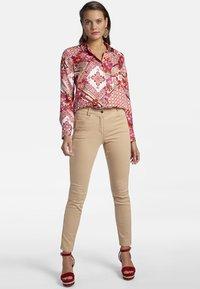 Basler - Button-down blouse - multi-coloured - 1