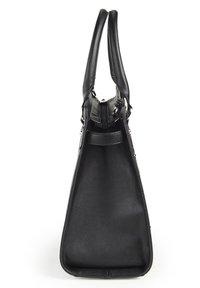 Basler - MIT STRUKTURMUSTER - Handbag - black - 3