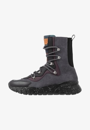 BIASA - Sneakersy wysokie - prune