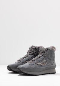 Bally - GALENIA - Sneakersy wysokie - cloud - 4