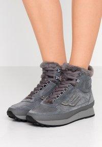 Bally - GALENIA - Sneakersy wysokie - cloud - 0