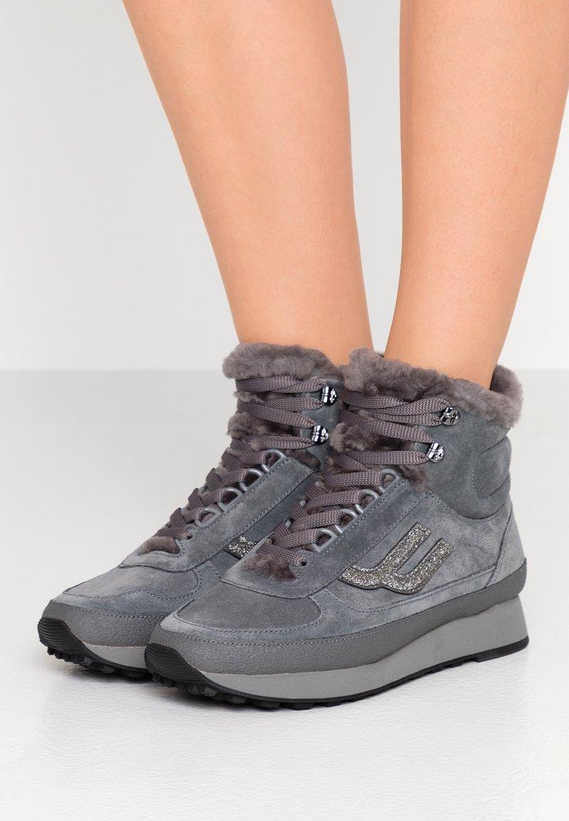 Bally - GALENIA - Sneakersy wysokie - cloud