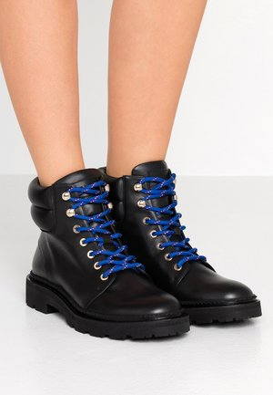 GANYA - Lace-up ankle boots - black
