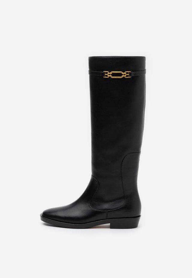 DEMINA FLAT - Støvler - black