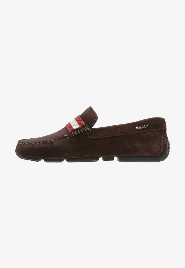 PEARCE - Mokkasiinit - dark brown