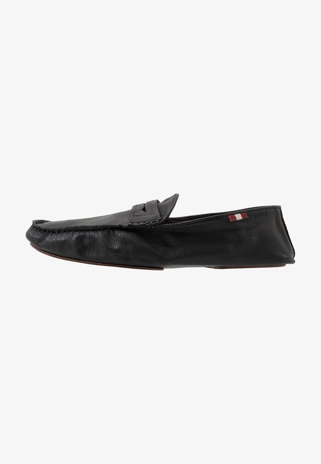 YVOR - Loaferit/pistokkaat - black