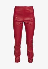 Bally - TROUSERS - Leggings - Trousers - bally red - 3